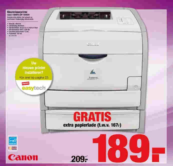 Laserprinter te goedkoop?
