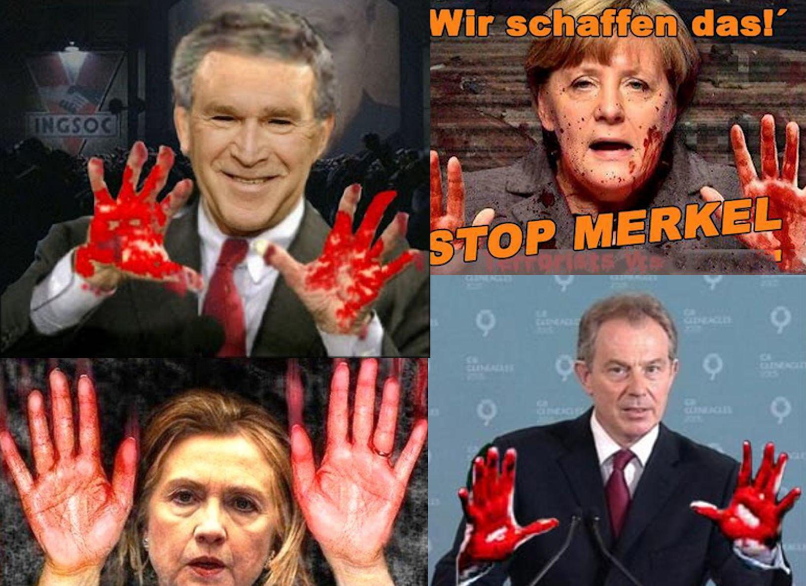 bloed aan de handen