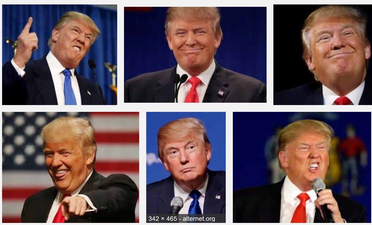 Ongepolijste Trump
